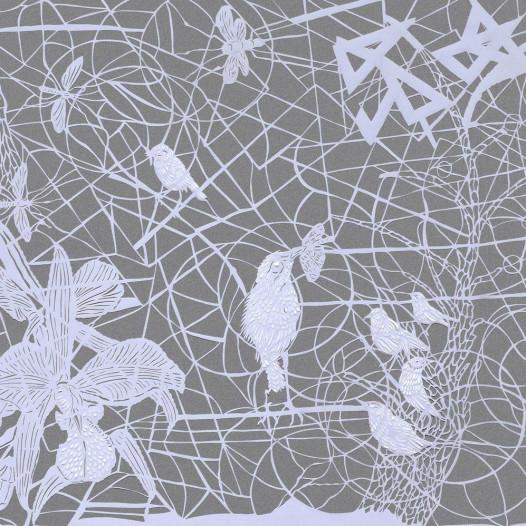 Magic Forest - Mosquito, 2020, Papierschnitt, 50 x 60 cm