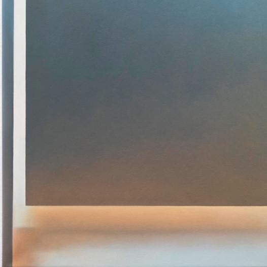 Dahinter, 2020, Öl auf Leinwand, 55 x 40 cm