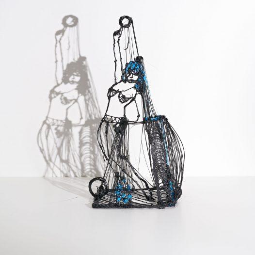 Woman #10, 2018, Kunststoff, 24,5 x 14 x 10 cm