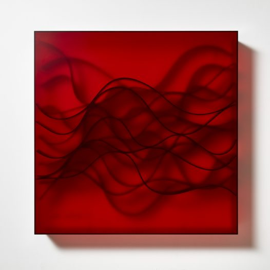 Ambient 2, 2018,  98 x 98 x 14 cm, Acrylglas, NBR