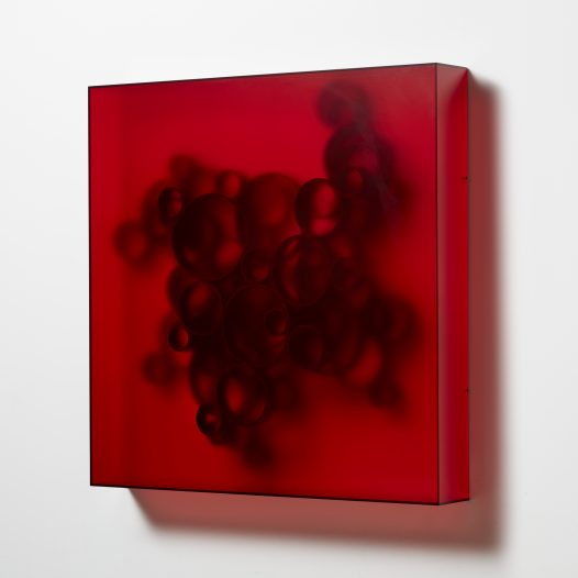 Ambient 3, 2018,  98 x 98 x 14 cm, Acrylglas, NBR