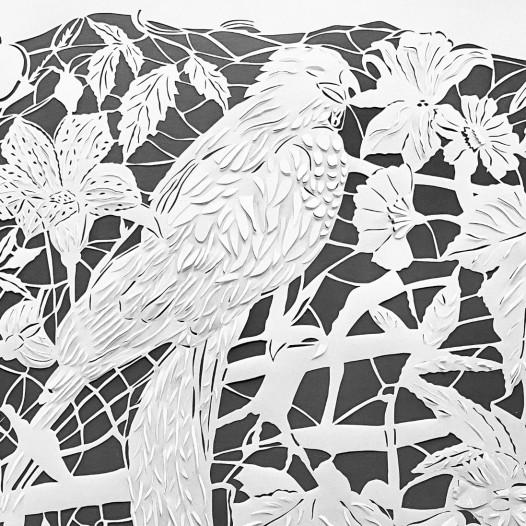 Magic Forest - Parrot, 2020, Detail