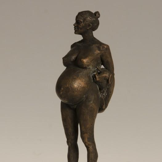 Ich habe Schwein, 2016, Bronze, Ed. 4/9, Höhe 20,5 cm