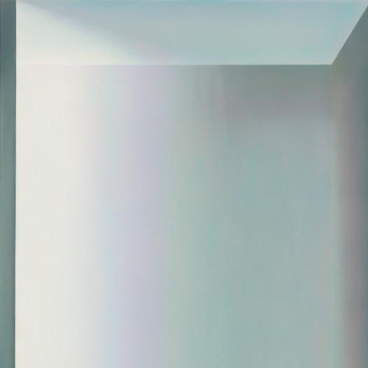 Grüner Raum, 2021, 90 x 70 cm, Öl auf Leinwand, € 4.800,-