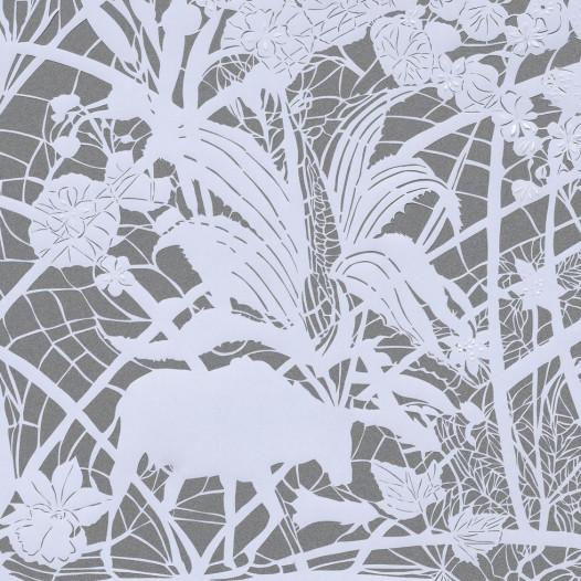 Magic Forest - Cactus, 2020, Papierschnitt, 50 x 60 cm