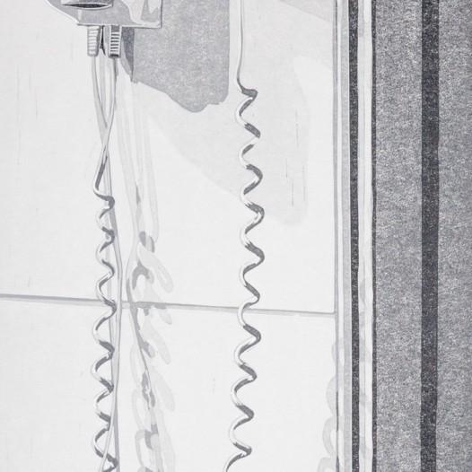 Spirale, 2016, Linolschnitt, Reduktion, 6 Farben, Druck: 34,6 x 23 cm, Papier: 44,8 x 33 cm, Auflage 12 + 2