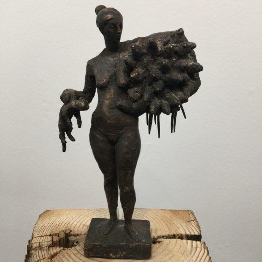Ratten, 2011,Bronze, Ed. 2/9, Höhe 16,5 cm