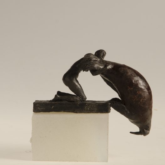 Walross, 2016, Höhe 12 cm, Bronze, Ed. 9