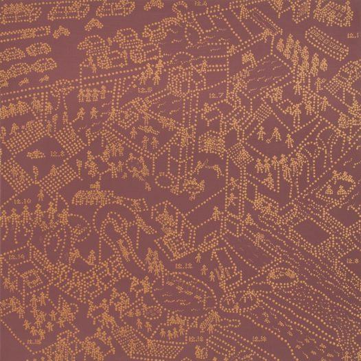 Dec.1.2.4.5.6.7.8.10.12.13.14.15.16.2015, Acryl auf Leinwand, 60 x 60 cm