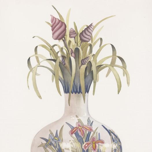 Institio 6, 2017, 76 x 56 cm, Aquarell auf Papier