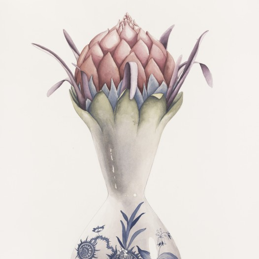 Institio 7, 2017, 76 x 56 cm, Aquarell auf Papier