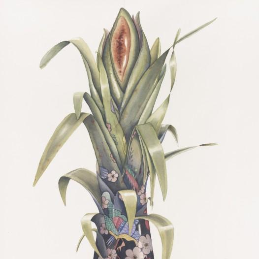 Institio 8, 2017, 76 x 56 cm, Aquarell auf Papier