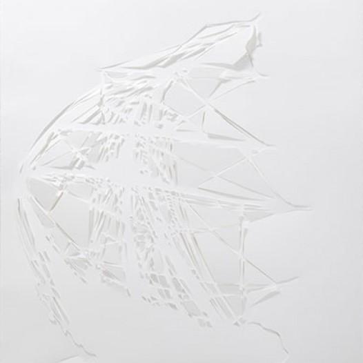Twisted Ships, 2011, 94 x 68 cm, geschnittenes Papier