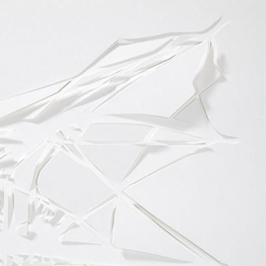 Twisted Ships (Detail), 2011, 94 x 68 cm, geschnittenes Papier