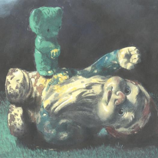 Spiel nicht mit Schlafenden, 2013-2016, Aquarell auf chinesischem Aquarellpapier, je 21 x 29,7 cm