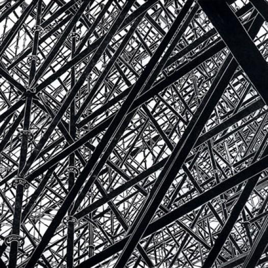 Struktur, 2009, Linolschnitt, 60 x 70 cm, Edition 12