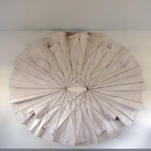 Decke genäht, 2011, 240 x 280cm, Stoff genäht