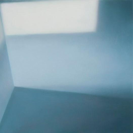 Blickwechsel, 2013, 40 cm x 40 cm, Öl auf Leinwand