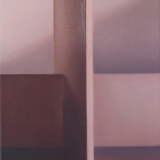 1. Raumschleuse, 2013, 35cm x 25cm, Öl auf Leinwand