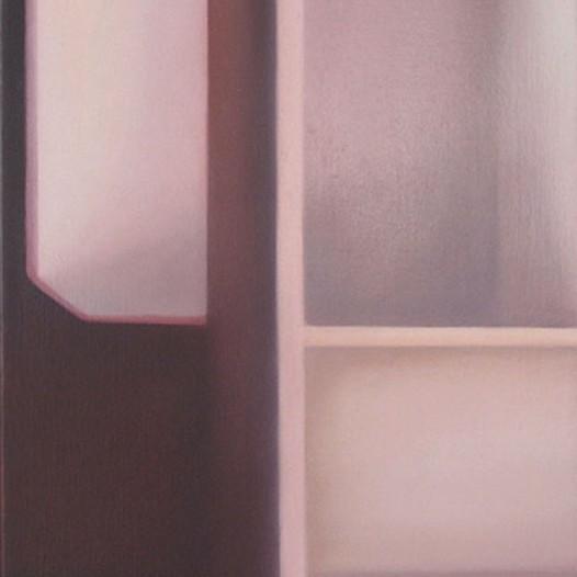 3. Raumschleuse, 2013, 35cm x 25cm, Öl auf Leinwand