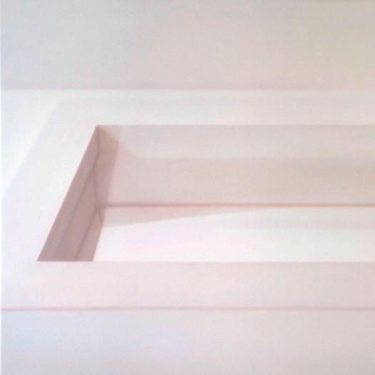 Der gefundene Raum, 2014, 100 cm x 185cm, Öl auf Leinwand
