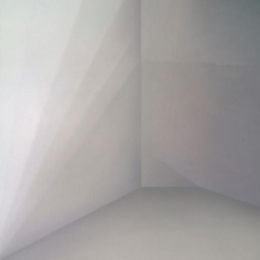 Raum Kubus, 2014, 120 cm x 120 cm, Öl auf Leinwand