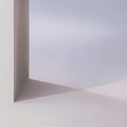 Rautenräume, 2013, 130 x 110 cm, Öl auf Leinwand
