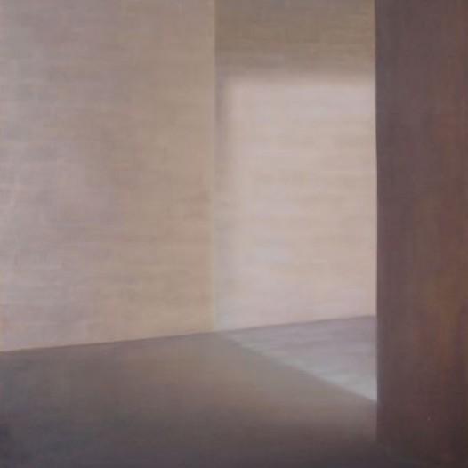 Zwischenlicht, 2011, 100 x 70 cm, Öl auf Papier