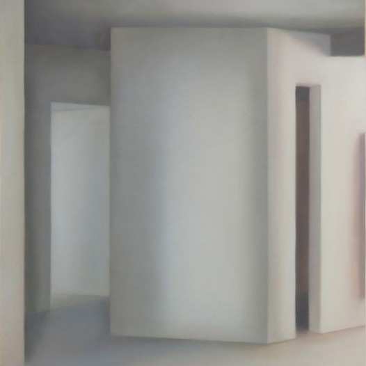 Raum 126 Skizze, 2011, 100 x 70 cm, Öl auf Papier