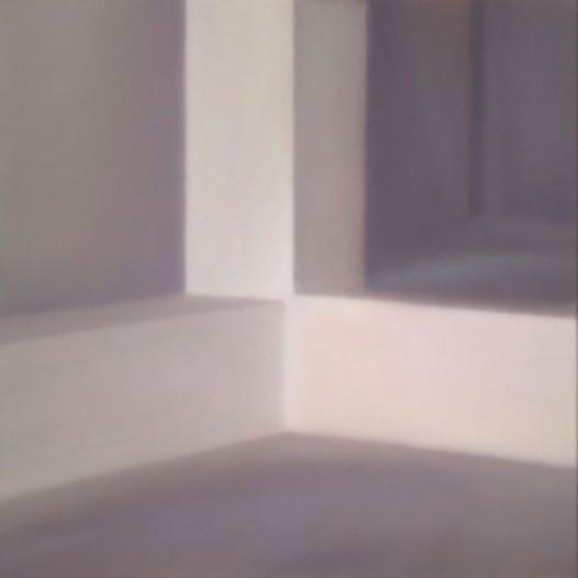 Konzentrierter Blick, 2013, 70 x 70 cm, Öl auf Papier