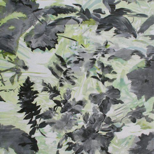 Zeitentanz 2021, Tusche und Acryl auf Leinwand, 47 x 37 cm