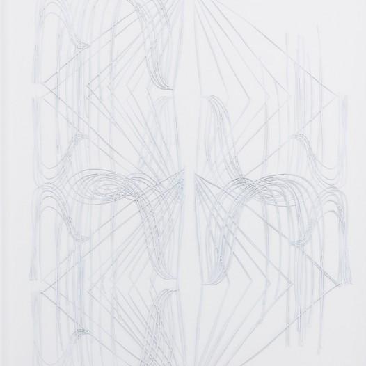 o.T., 2018, mehrlagiger Papierschnitt, 92 x 74 cm, Foto: Thorsten Arendt