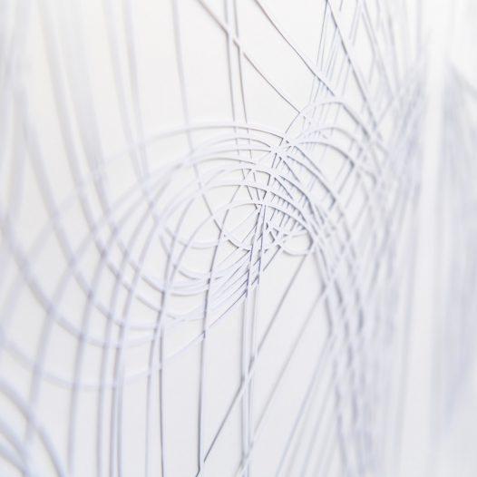 o.T. (Detail), 2018, mehrlagiger Papierschnitt, 92 x 74 cm, Foto: Thorsten Arendt
