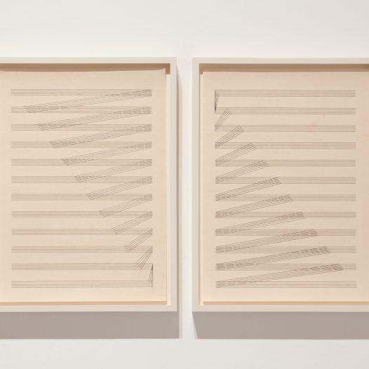 Tectonic_Score 2, 2015, Bleistift auf Papier, 21 x 29,7 cm
