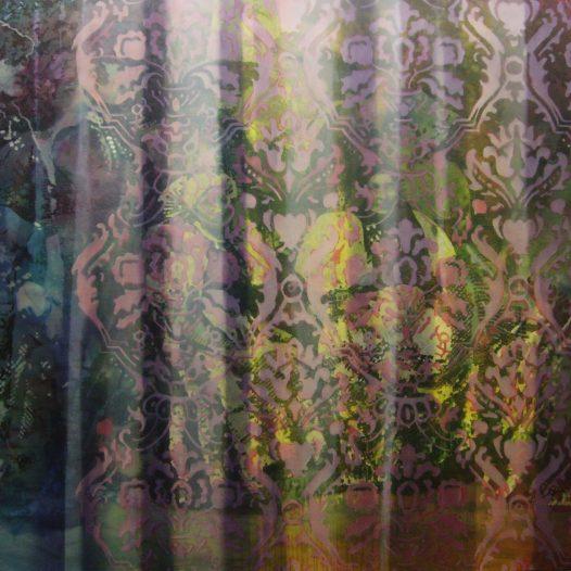 Geschlossene Gesellschaft, 2017, Öl auf Baumwolle, 180 x 220 cm