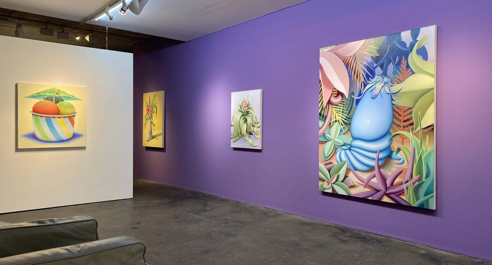 Mona Broschár Ausstellungsansicht
