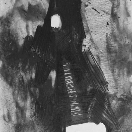 Stefanie Pojar, fireflies #9, 2019, 42 x 59 cm, Graphit/Bleistift auf Papier