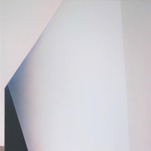 Friederike Walter: Kartenhaus, 2020, Öl auf Leinwand, 90 x 60 cm