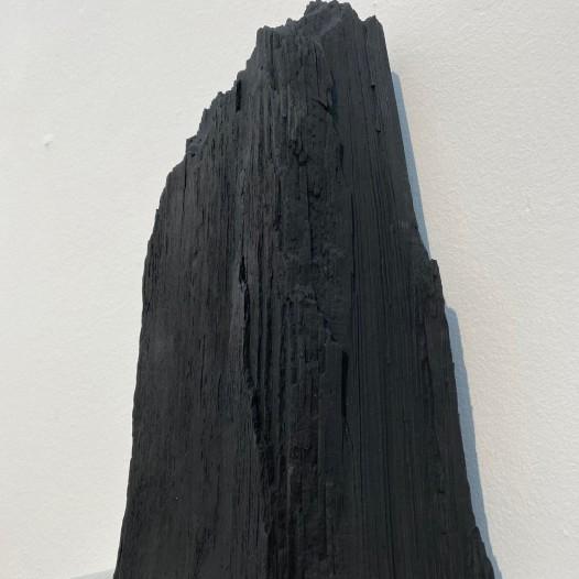 Joseph Stephan Wurmer: Taurusnacht VI, 2020, Bergfichte, 22 x 11 x 25 cm
