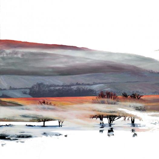 Shroud of Mist, 2019, Öl auf Leinwand, 140 x 220 cm
