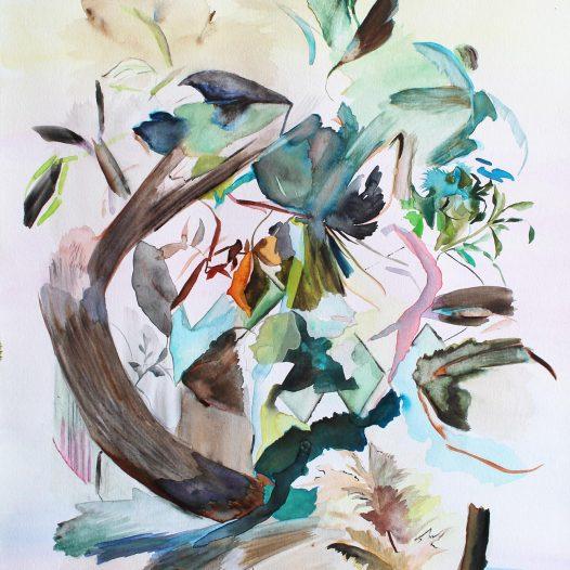 Reizlieb, Aquarell auf Papier, 40 x 30 cm